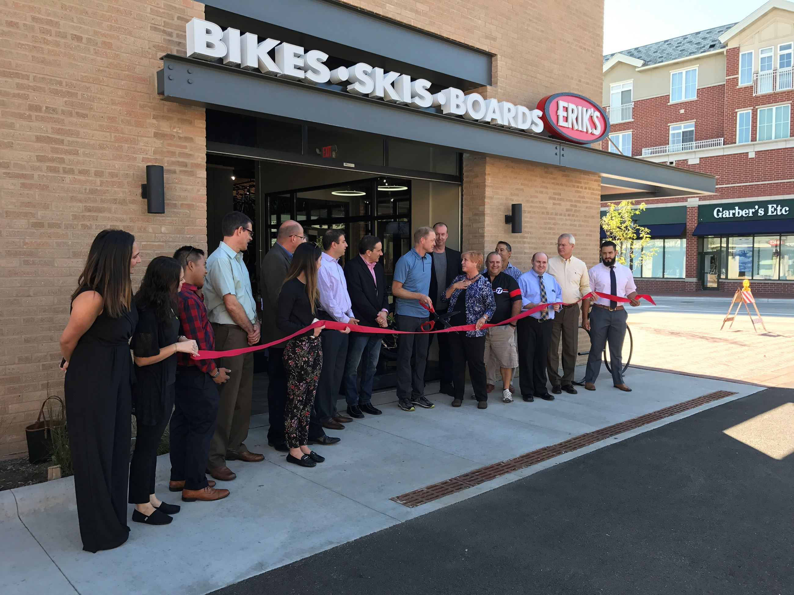 Erik's Ribbon Cutting