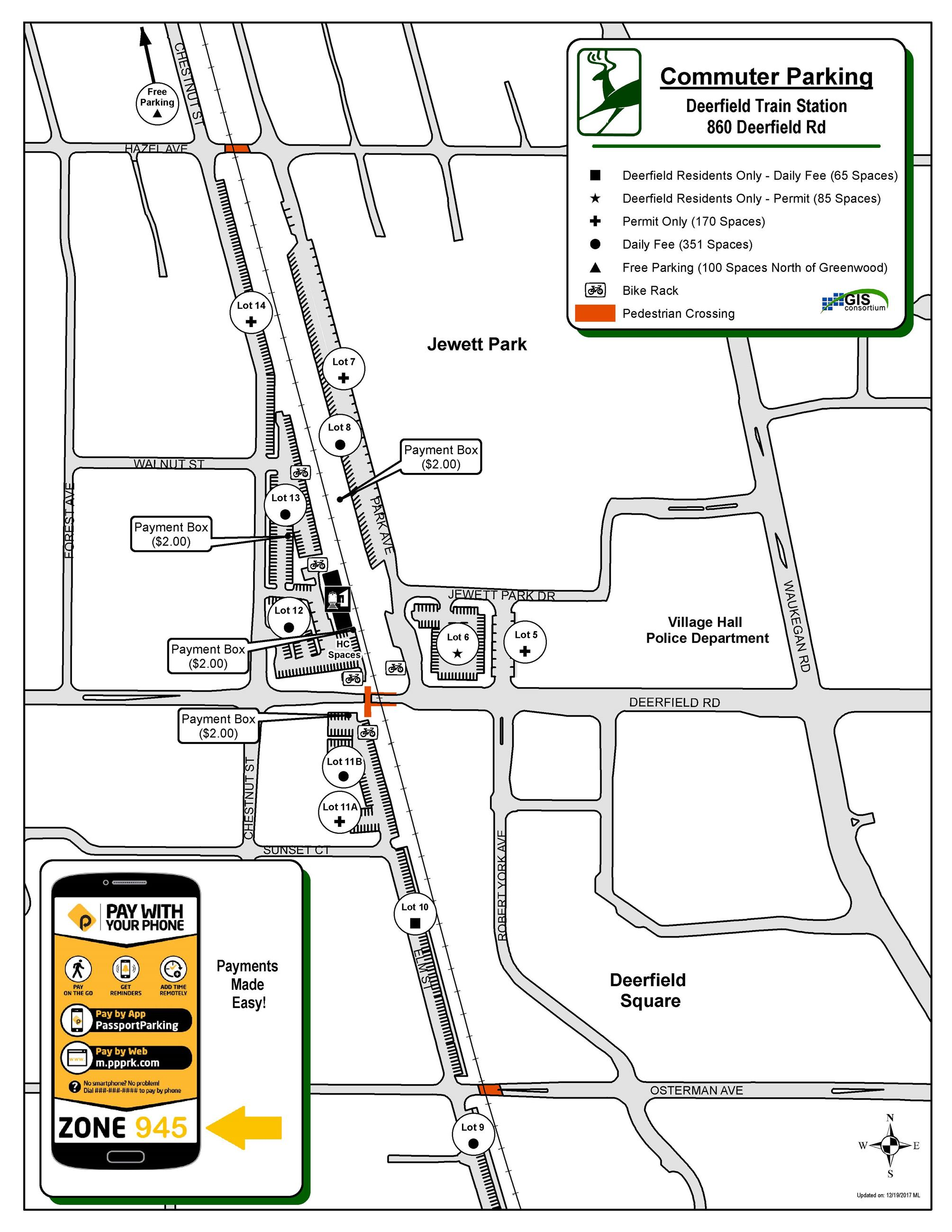 Commuter Parking Map